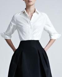 new product d5021 07a2b Camicie di seta bianche da donna | Moda donna | Lookastic