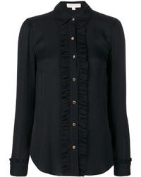 Camicia di seta nera di MICHAEL Michael Kors