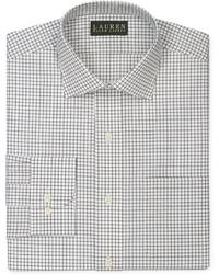 Camicia elegante a quadri bianca e nera