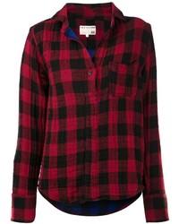Camicia elegante a quadri rossa di Rag and Bone
