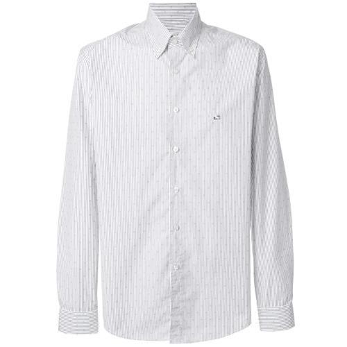 size 40 7c48b a03c7 €187, Camicia elegante a righe verticali bianca di Etro