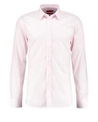 Camicia elegante a righe verticali bianca di Hugo Boss