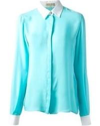 Camicia elegante acqua di Emilio Pucci
