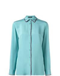 Camicia elegante acqua di Etro