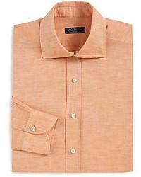 Camicia elegante arancione