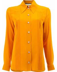 Camicia elegante arancione di Gucci