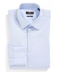 Camicia elegante azzurra