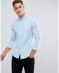 Camicia elegante azzurra di ASOS DESIGN