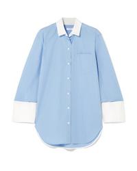Camicia elegante azzurra di Equipment