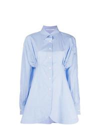 Camicia elegante azzurra di Ermanno Scervino