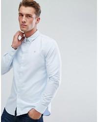 Camicia elegante azzurra di Farah