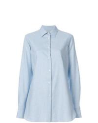 Camicia elegante azzurra di Holland & Holland
