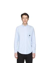 Camicia elegante azzurra di Palm Angels