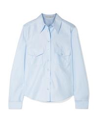 Camicia elegante azzurra di Stella McCartney