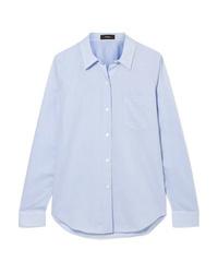 Camicia elegante azzurra di Theory