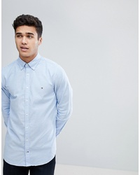 Camicia elegante azzurra di Tommy Hilfiger