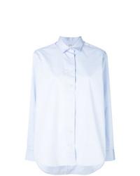 Camicia elegante azzurra di Totême