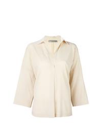 Camicia elegante beige di Vince