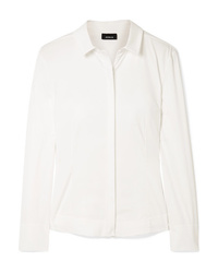 Camicia elegante bianca di Akris