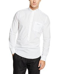 Camicia elegante bianca di Luis Trenker