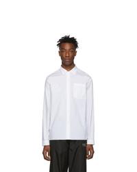 Camicia elegante bianca di Moncler Genius