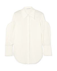 Camicia elegante bianca di Rejina Pyo
