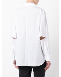 Camicia elegante bianca di Yohji Yamamoto