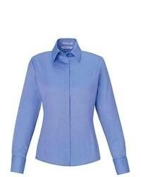 Camicia elegante blu