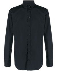 Camicia elegante blu scuro di Dolce & Gabbana