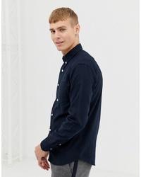 Camicia elegante blu scuro di New Look