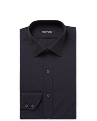 Camicia elegante blu scuro di Tom Ford