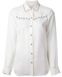 Camicia elegante decorata bianca di MICHAEL Michael Kors