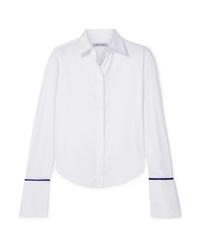 Camicia elegante di seta bianca di Anna Quan