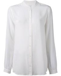 Camicia elegante di seta bianca di Equipment