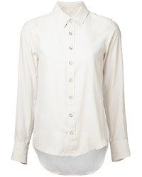 Camicia elegante di seta bianca di Rag and Bone