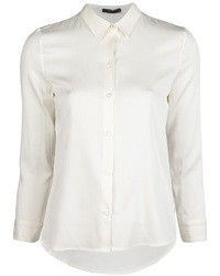 Camicia elegante di seta bianca di The Row