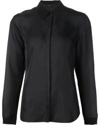 Camicia elegante di seta nera di Rag and Bone