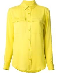 Camicia elegante gialla di MICHAEL Michael Kors