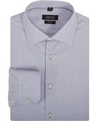 Camicia elegante grigia