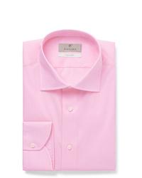 Camicia elegante rosa di Canali