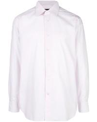 Camicia elegante rosa di Ermenegildo Zegna