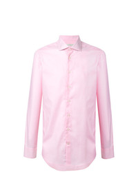Camicia elegante rosa di Etro