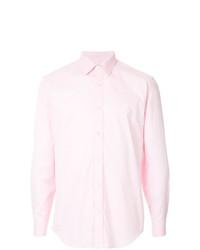 Camicia elegante rosa di Gieves & Hawkes