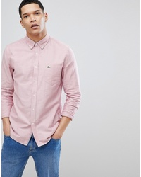 Camicia elegante rosa di Lacoste