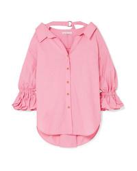 Camicia elegante rosa di Rejina Pyo