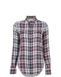 Camicia elegante scozzese multicolore