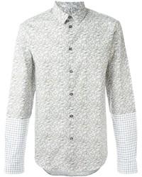 Camicia elegante stampata beige di Carven