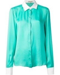 Camicia elegante verde menta di Emilio Pucci