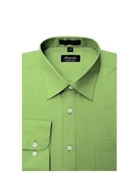 Camicia elegante verde oliva