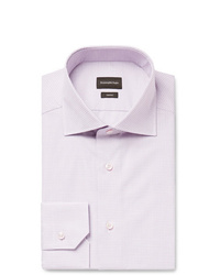 Camicia elegante viola chiaro di Ermenegildo Zegna